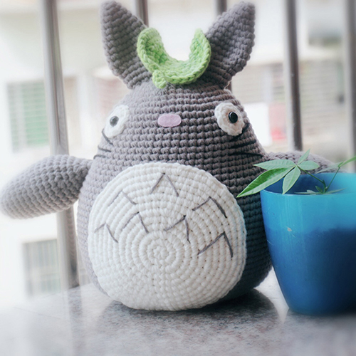Totoro Big Size – English Pattern