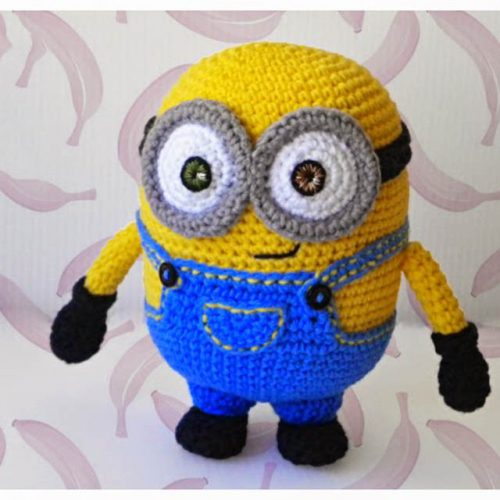 The Minion Bob amigurumi – English pattern
