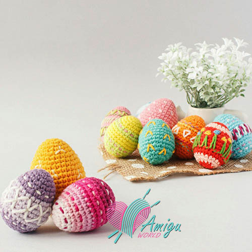 Easter Eggs Crochet – Russian Pattern