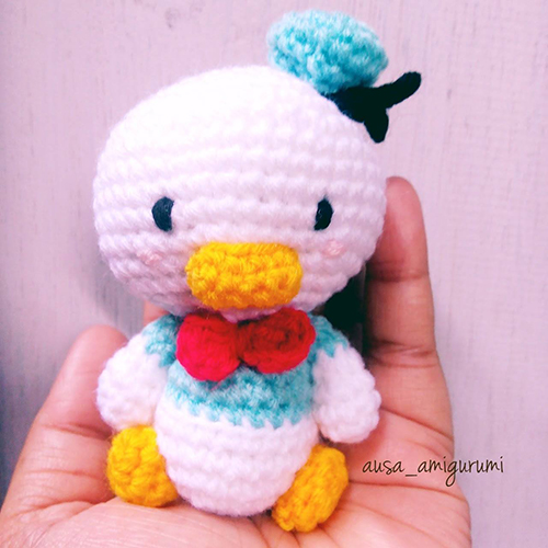 Donald Duck amigurumi
