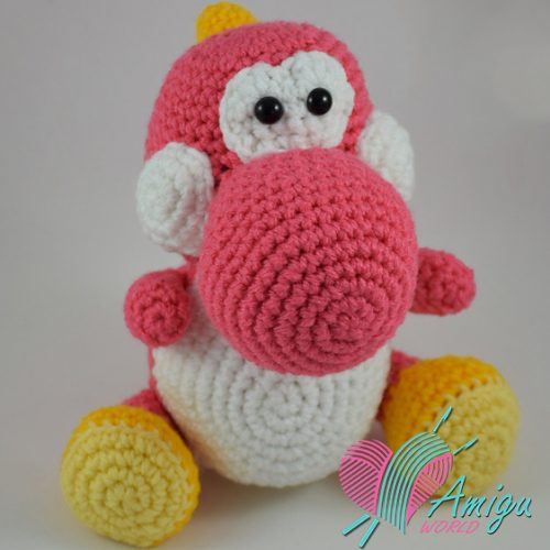yoshi amigurumi tutorial - YouTube | Mario crochet, Crochet super ... | 500x500