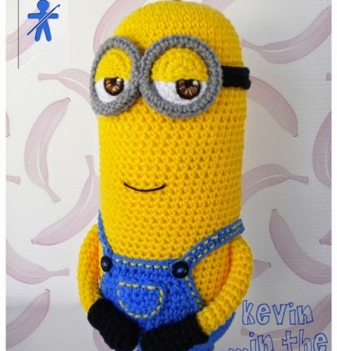 The Minion Kevin amigurumi – English pattern