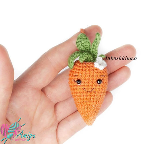 Carrot amigurumi – Russian Pattern