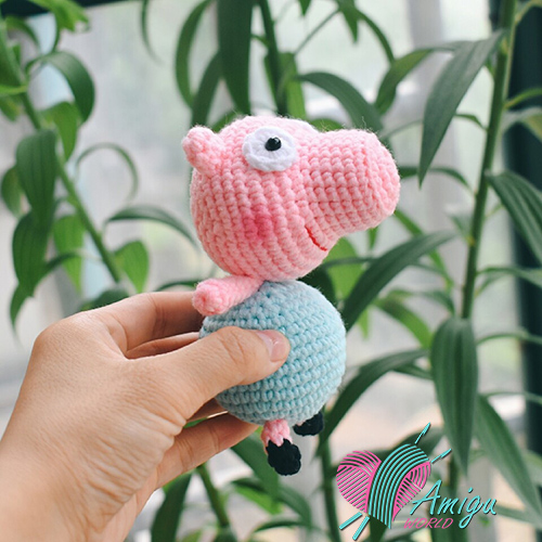 Piggy amigurumi cute – Chinese Pattern
