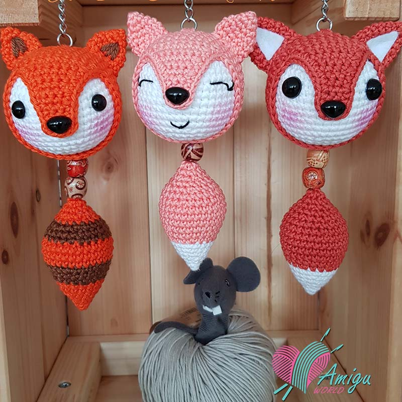 Fox amigurumi by All Over Crochet And Handmade