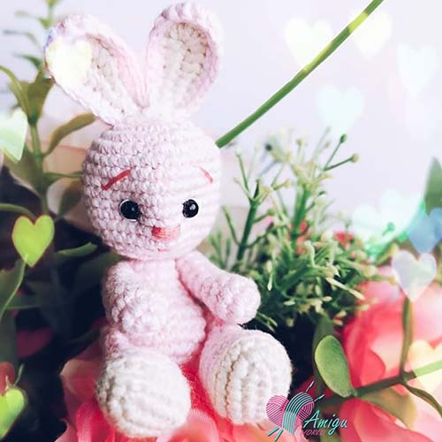 Little rabbit amigurumi crochet
