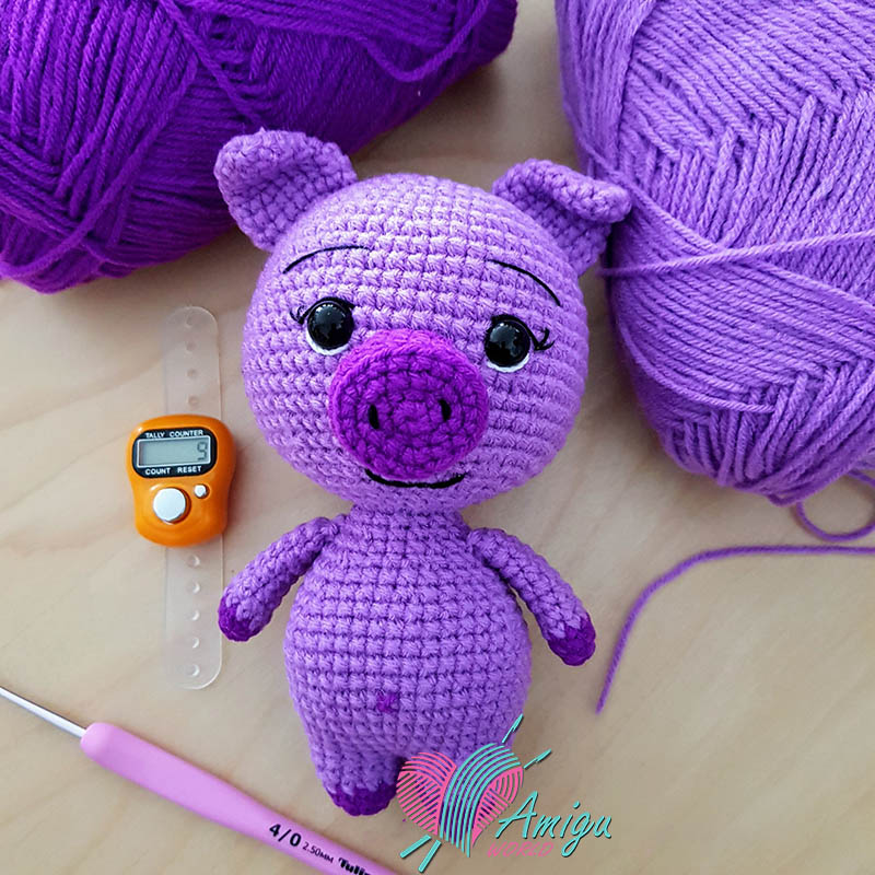 Piggy cute amigurumi crochet