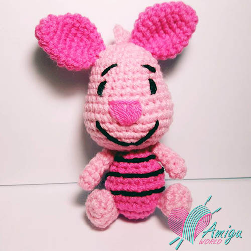 Piglet character amigurumi – Thailand Pattern