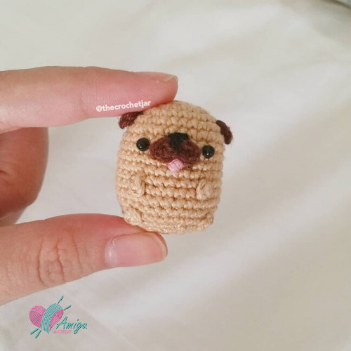 Tiny-Potato-Pug Amigurumi-Free-Crochet 500x500