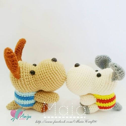 Hippopotamus amigurumi free pattern english
