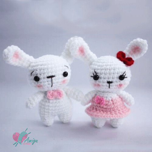 Amigurumi Cute Bear Wedding Couple - FREE Crochet Pattern / Tutorial |  Crochet bear, Crochet animals free patterns, Crochet patterns | 500x500