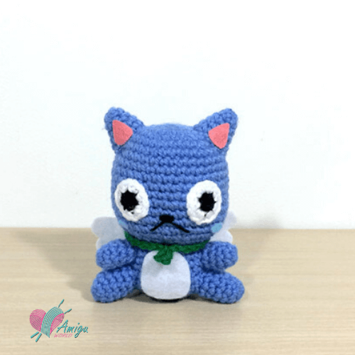 Crochet amigurumi Happy in Pokémon – English Pattern