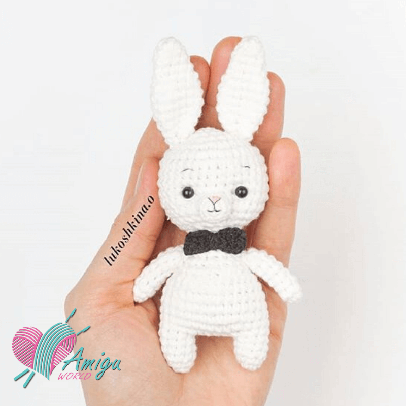 Little amigurumi bunny free crochet pattern