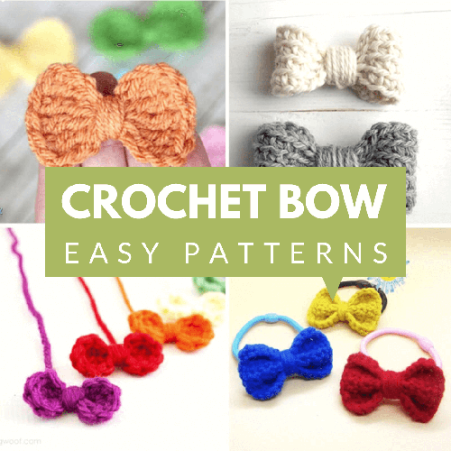 4 Best crochet mini bow pattern for beginners