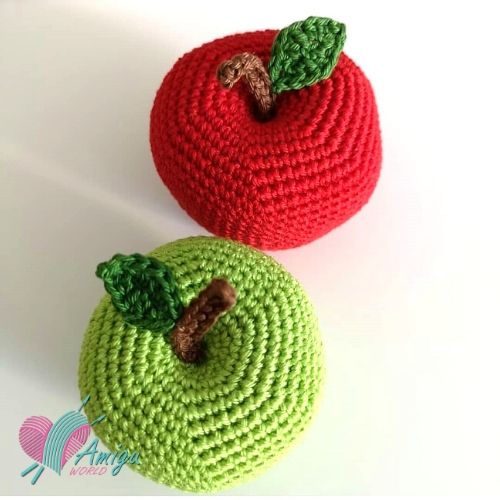 Big apple free amigurumi crochet – Turkey pattern