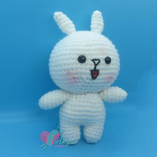 Line friends Cony Bunny amigurumi free pattern