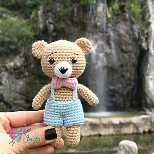 Tiny bear amigurumi crochet free – Turkey Pattern