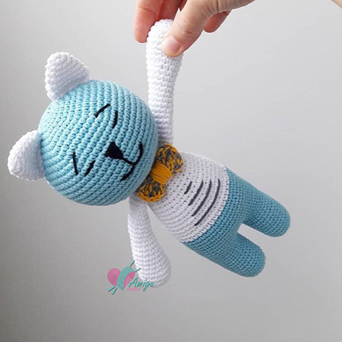 Lovely Cat amigurumi – Turkey Pattern