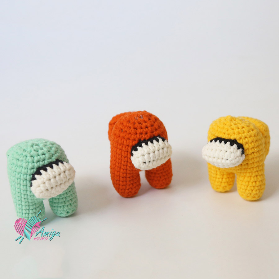 How to crochet Among Us Amigurumi