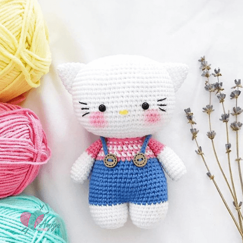 Hello Kitty Amigurumi free pattern by Beary_bearnita_