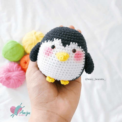 Penguin Amigurumiby Free crochet pattern by Beary_bearnita_