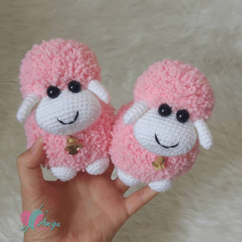 A cute amigurumi sheep – Turkish Pattern