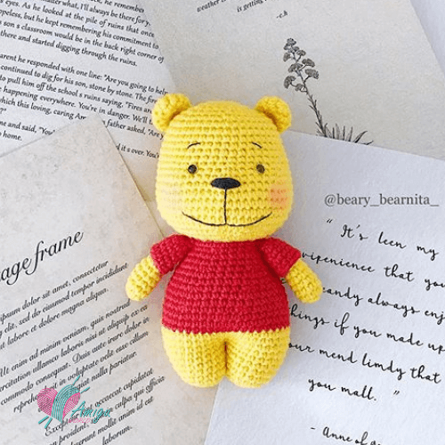 Pooh Amigurumi by Beary_bearnita_
